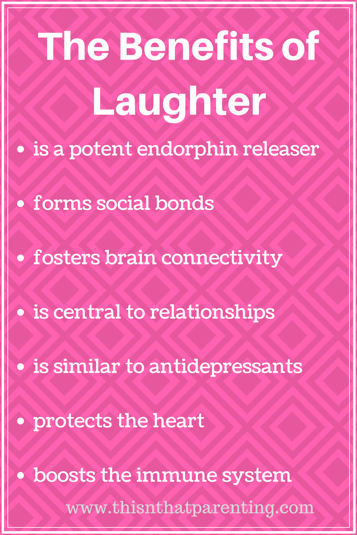 Laughter is the Best Medicine Ways to Make Sure Your Kids Laugh