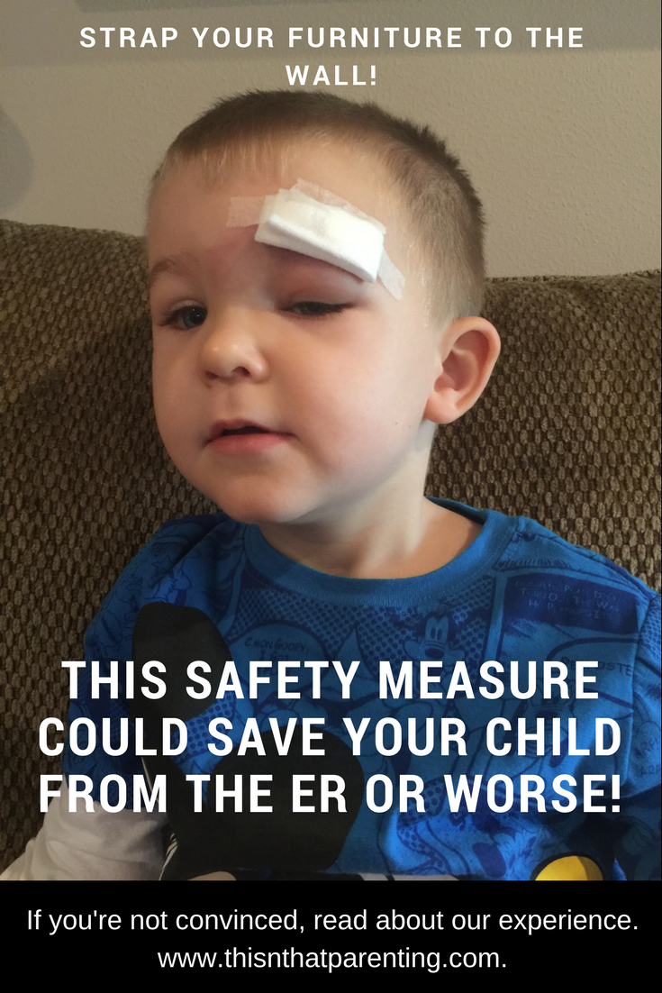 This household safety measure could save your child from the ER or worse