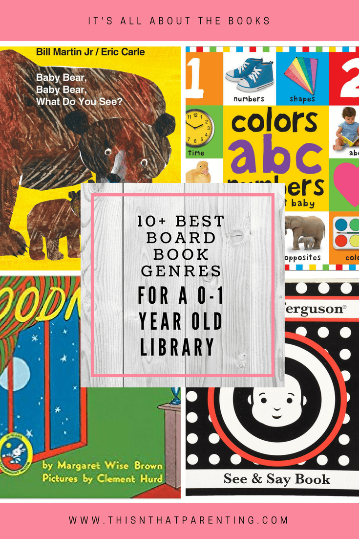 10 Best Board Books Genres for Age 0-1 Year Old This article provides parents with all the information they need to know about reading to their child in the first year. It gives all the genres that interest the child in the first year as well as 3+ examples for each genre. If you are in need of books for a 0-1-year-old, this post is invaluable.