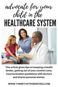 Advocate for Your Child in the Healthcare System
