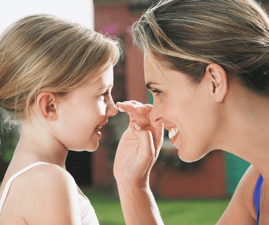 choosing the best sunscreen for kids