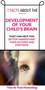 Child's prefrontal cortex development: When you learn about the functions of the prefrontal cortex and lack of development in children's prefrontal cortex, you will better understand your child's actions and emotions. #childsbraindevelopment #prefrontalcortex
