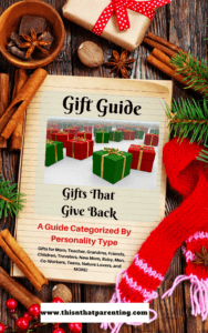 Your Gift Guide of Gifts That Give Back