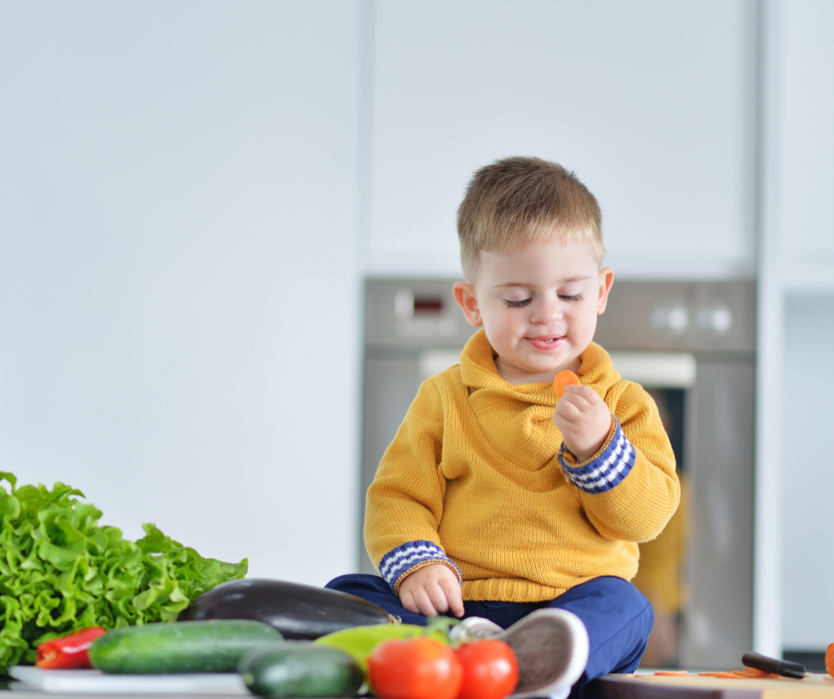 get your child to love their veggies