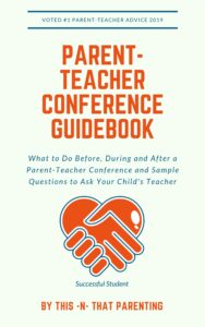 This Free PDF guarantees a positive conference experience. This article gives parents tips on what to do before, during, and after a parent-teacher conference and offers sample questions to ask about the student. #questionstoaskyourchildsteacher #parent-teacherconferenceideas